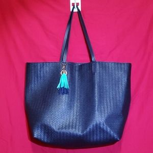 Bath & Body Works Navy Blue Large Tote
